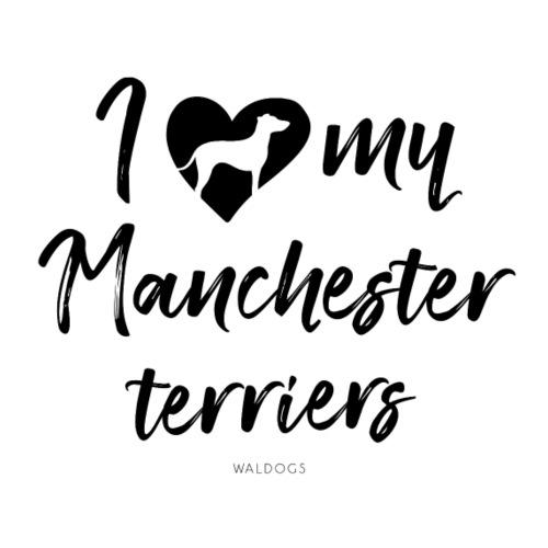 My Manchester Terriers II - Miesten premium t-paita