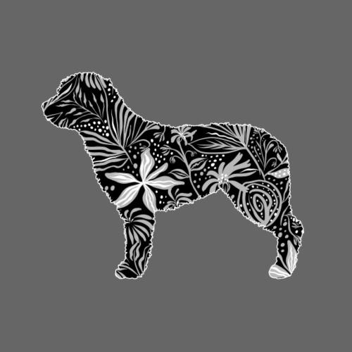 Flower Perro - Miesten premium t-paita