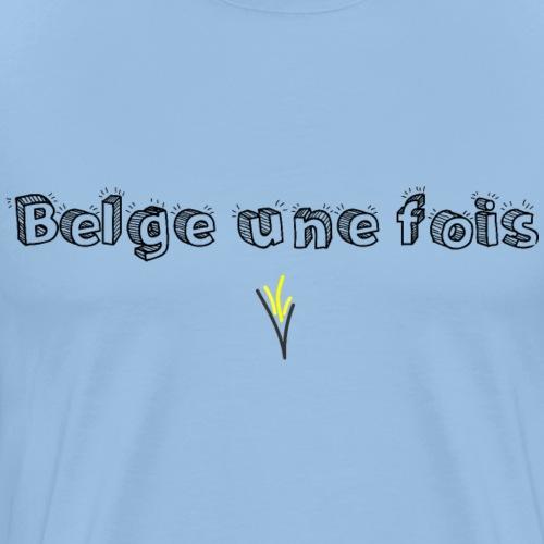 BELGE UNE FOIS - T-shirt Premium Homme
