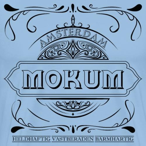 mokum vintage black - Mannen Premium T-shirt