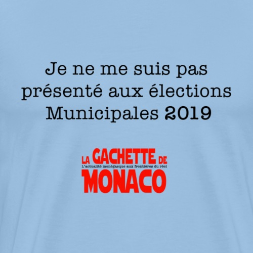 Elections Municipales 2019 - T-shirt Premium Homme
