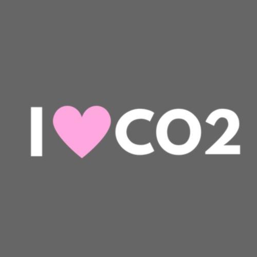 I LOVE CO2 - Miesten premium t-paita