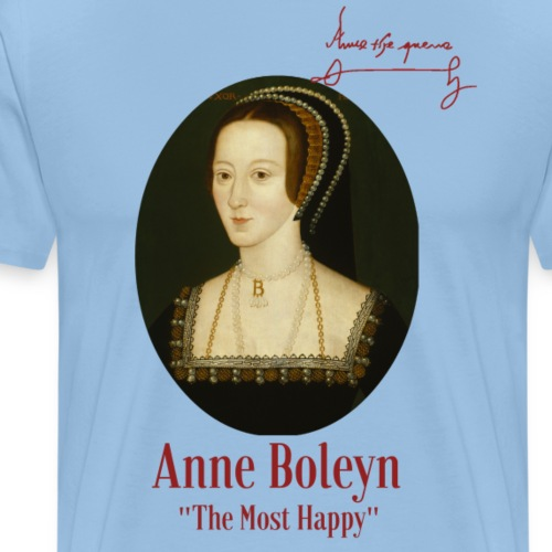 Anne Boleyn - Männer Premium T-Shirt