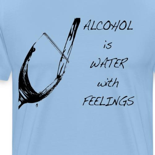 water with feelings - Men's Premium T-Shirt