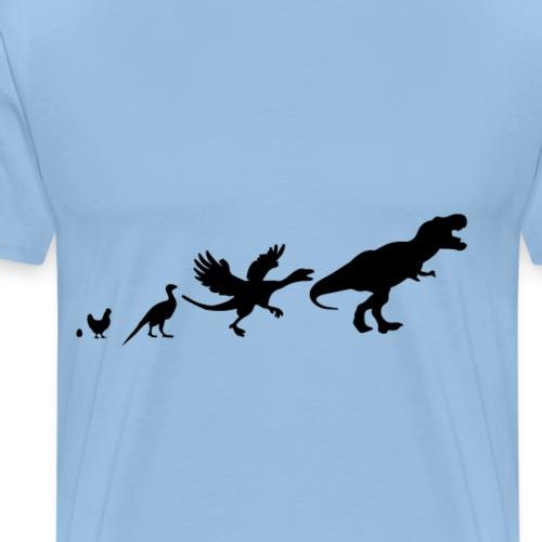 chickens revolver rex - Men's Premium T-Shirt