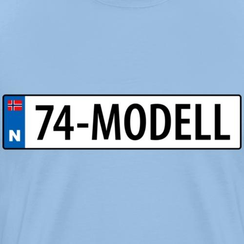 74-modell kjennemerke