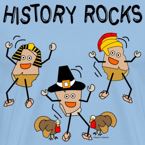 History Rocks - Men's Premium T-Shirt