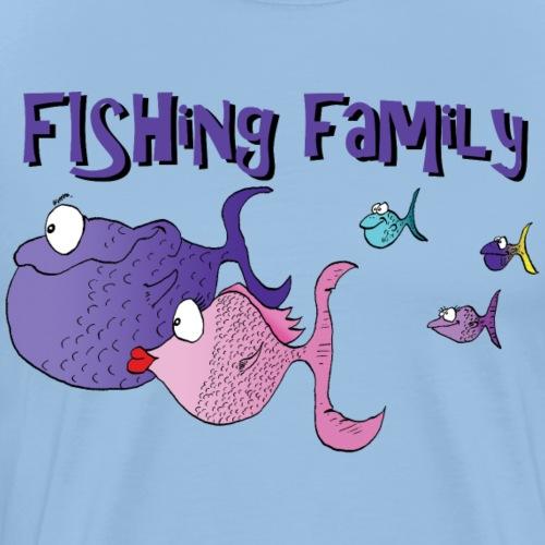 famille poissons - T-shirt Premium Homme