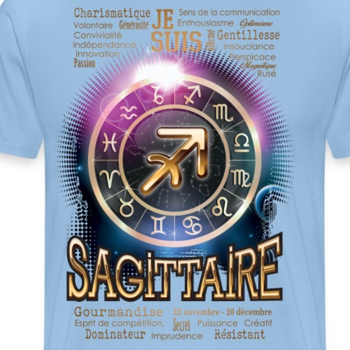 SAGITTAIRE - T-shirt Premium Homme