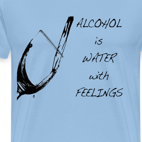 water with feelings - Men's Premium T-Shirt