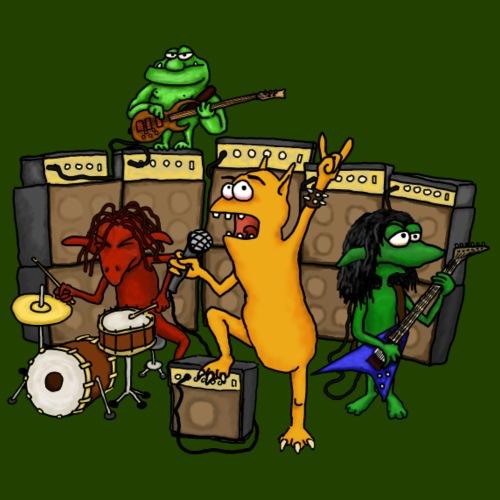 Kobold Metal Band - Men's Premium T-Shirt