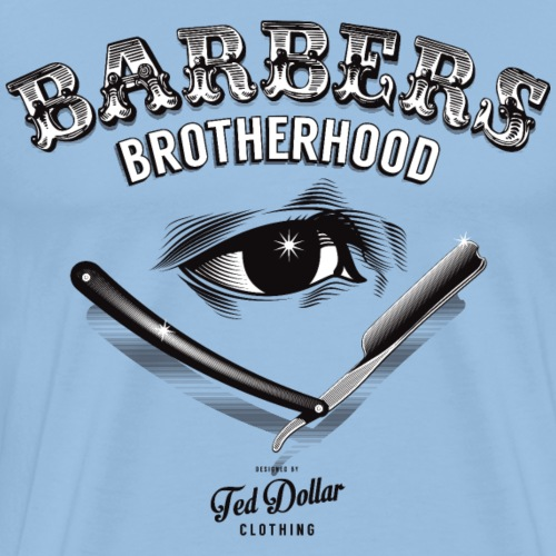 Barbers Brotherhood - T-shirt Premium Homme