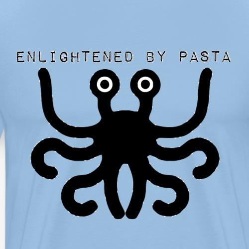 enlightened by pasta Hoesjes voor mobiele - Men's Premium T-Shirt