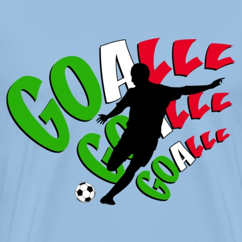 goalll italia - Men's Premium T-Shirt