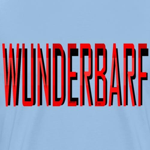 WUNDERBARF red - Men's Premium T-Shirt