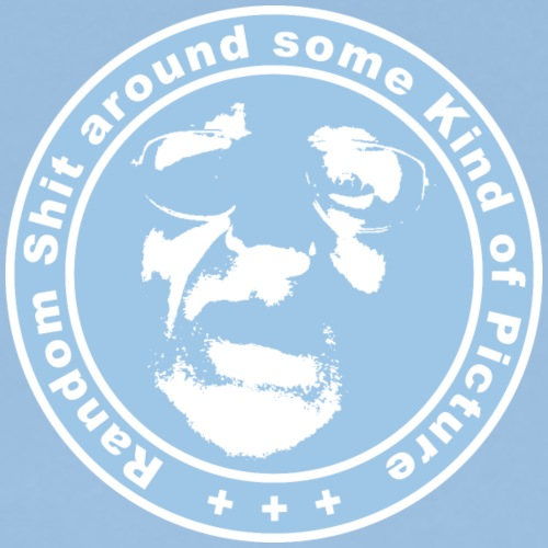 Club-Logo blau-weiß - Männer Premium T-Shirt