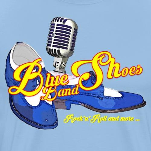 Blue Shoes dunkel - Männer Premium T-Shirt