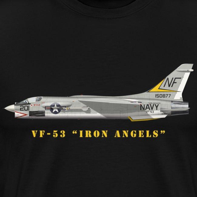 """F-8J Crusader VF-53 """"Iron Angels"""""""
