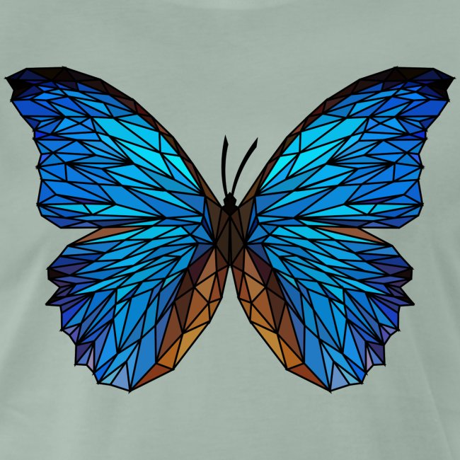 PAPILLON - LOW POLY (Outline)