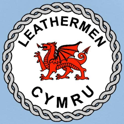 LeatherMen Cymru Logo 2 - Men's Premium T-Shirt