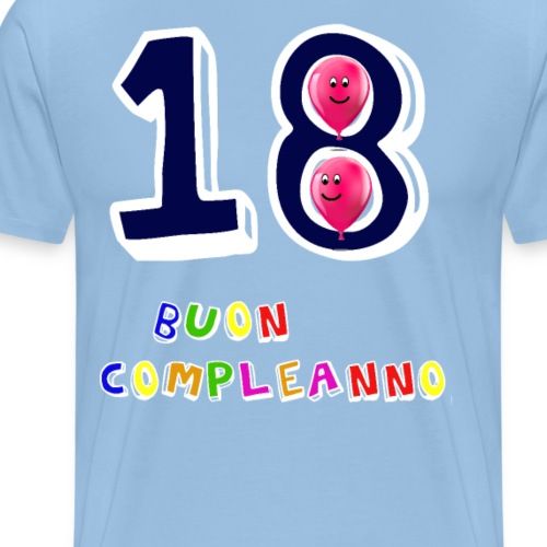 18 BUON compleanno