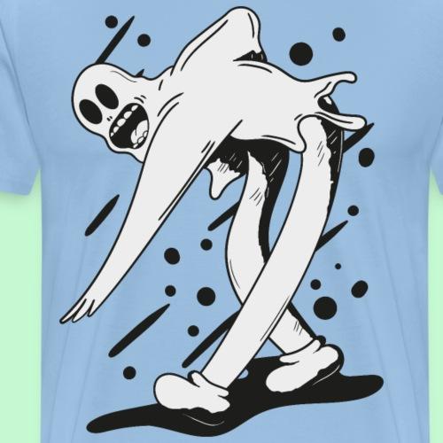 fantasma bailando - Camiseta premium hombre