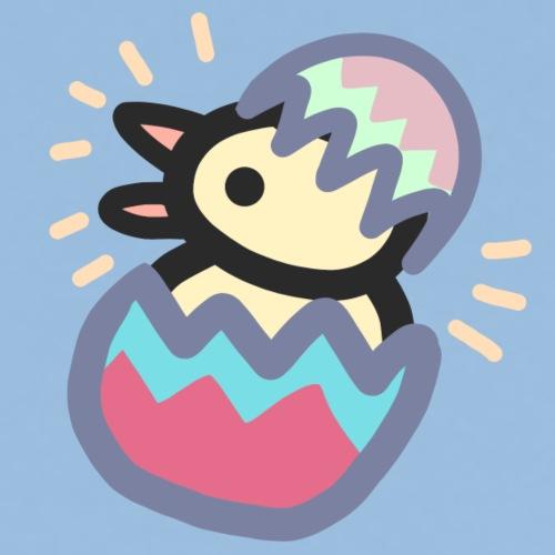 Easter Pinkguin (Yellowguin?) - Herre premium T-shirt