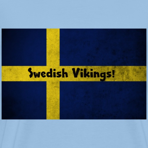 Swedish Vikings - Premium-T-shirt herr