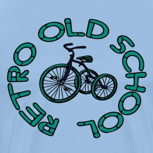 Rétro old school - T-shirt Premium Homme
