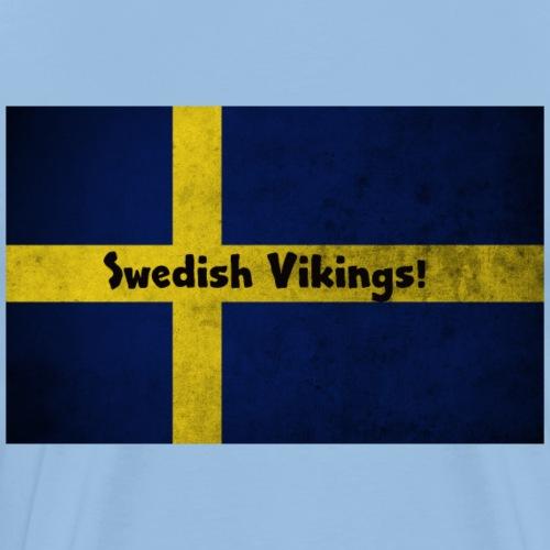 Swedish Vikings - Premium-T-shirt herr