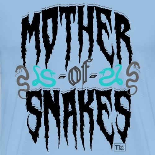 Mother of Snakes II - Miesten premium t-paita