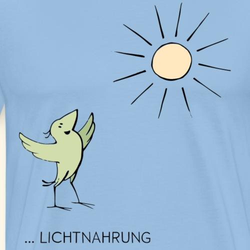 Krähe Lichtnahrung - Männer Premium T-Shirt