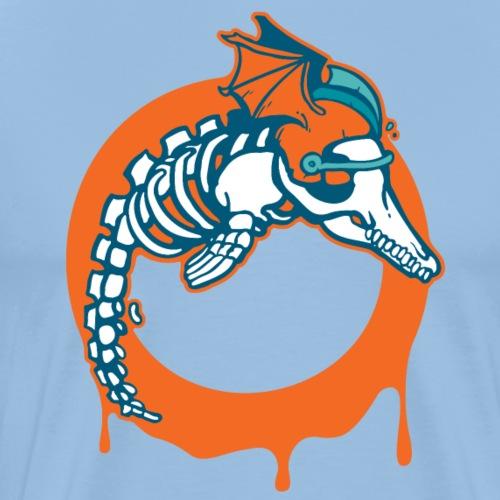 Reikland Undead Dolphins - Männer Premium T-Shirt
