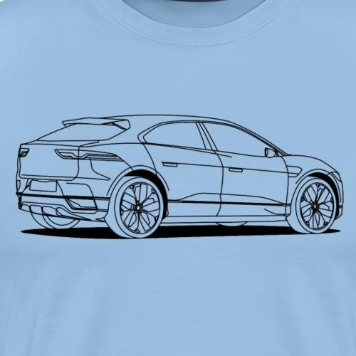 jag outlines - Men's Premium T-Shirt