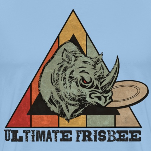 Ultimate Frisbee Wild - Camiseta premium hombre
