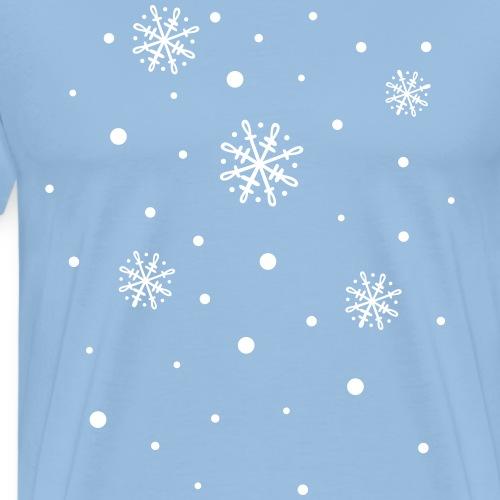 Schneeflocken, Winter, snowflakes