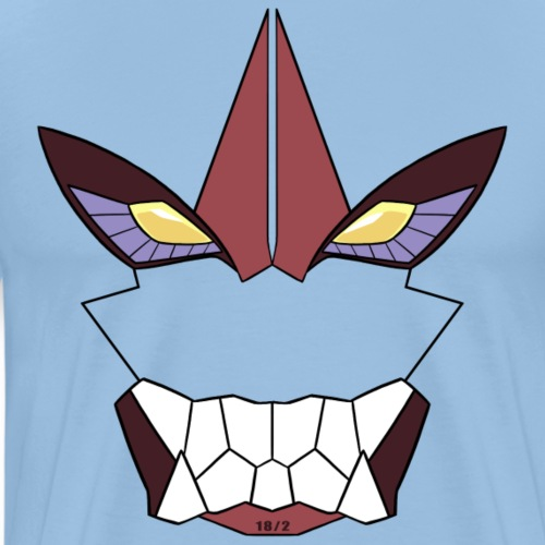 Mecha Face - Männer Premium T-Shirt