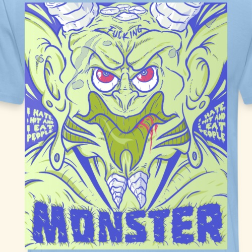 Fucking Monster - T-shirt Premium Homme