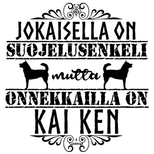 Kai Ken Enkeli II - Miesten premium t-paita