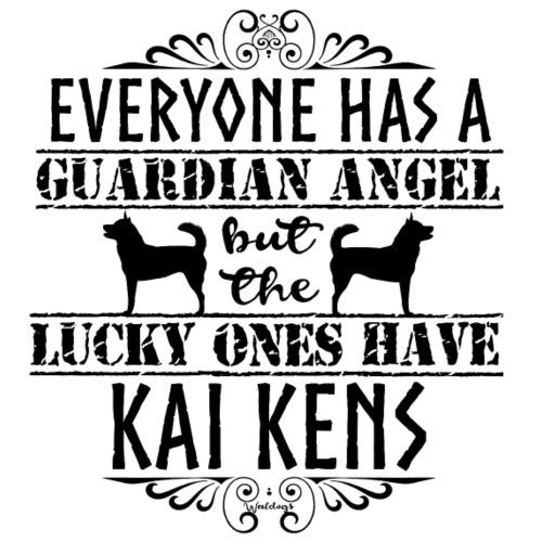 Kai Ken Angels II - Miesten premium t-paita
