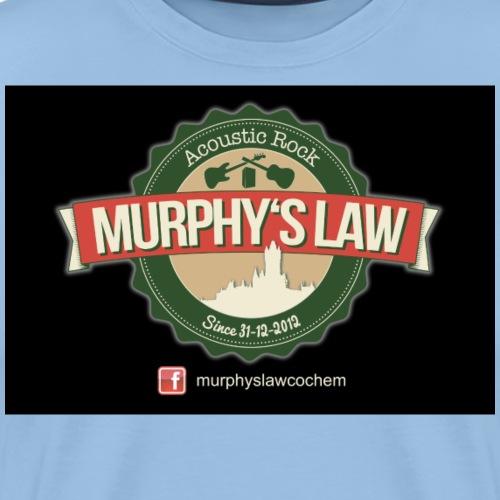 Murphy s Law black - Männer Premium T-Shirt