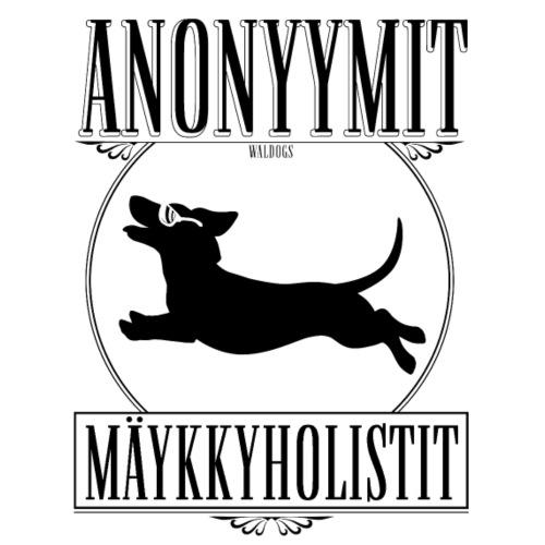 Mäykkyholisti LK II - Miesten premium t-paita