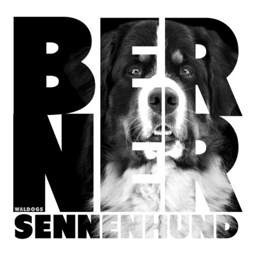 NASSU Berner BW - Miesten premium t-paita