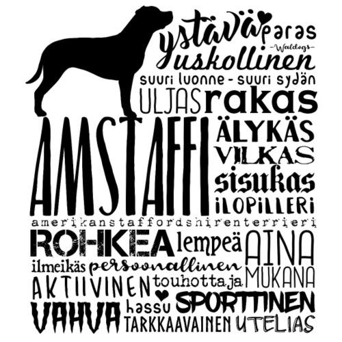 Amstaffi Sanat M - Miesten premium t-paita
