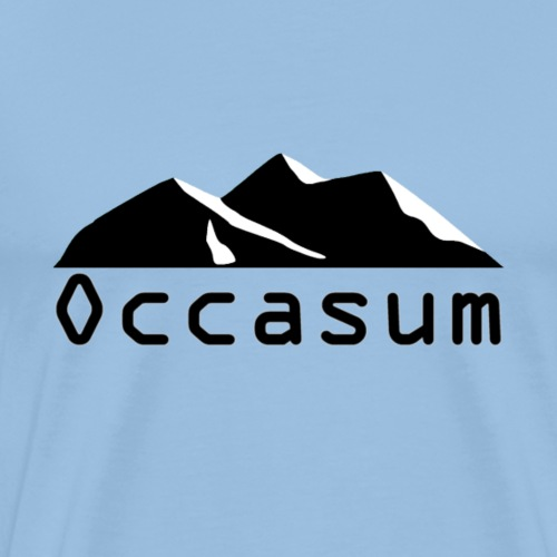 "Occasum ""Mountain"" - T-shirt Premium Homme"