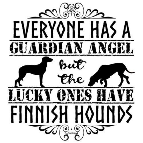 finnishhoundangelsb - Miesten premium t-paita