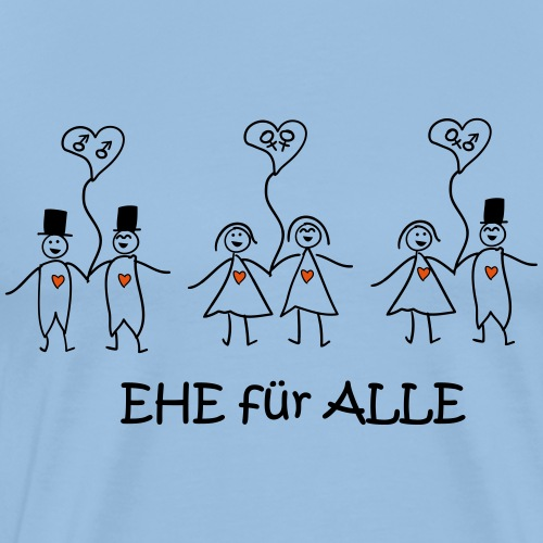 Ehe Für Wirklich Alle - Männer Premium T-Shirt