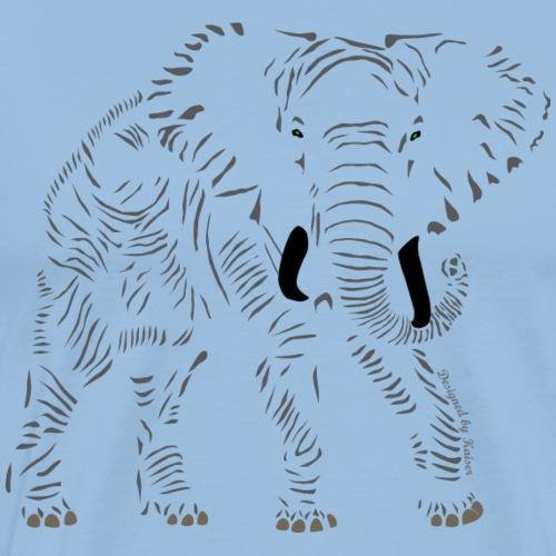 Elephant-1-0-F- - T-shirt Premium Homme