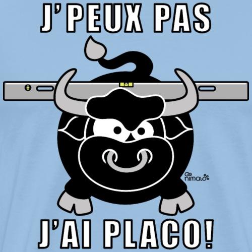 Taureau Placo, Règle de maçon - T-shirt Premium Homme