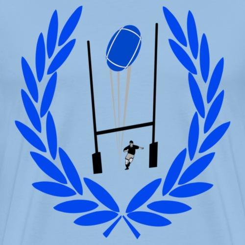 r_bleu - T-shirt Premium Homme